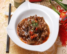 Minced meat   Konjak